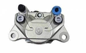 Brembo - Brembo 34mm Caliper 34G Rear Side inlet and Bleed: Silver Color - Image 1