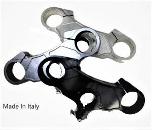 Motowheels - Ducati 848/1098/1198 Billet Upper Triple Clamp: Minor Imperfections, Made In Italy And at At Incredible Price! [No return/Exchange] - Image 1