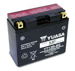 Yuasa  - Yuasa OEM Replacement Battery YT12B-BS [Not Filled] - Image 1