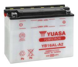 YUASA OEM Replacement Battery YB16AL-A2