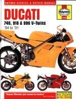 Haynes Books - HAYNES Ducati 4V Service & Repair Manual - Image 1