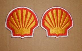 Patches - Shell Patch: White