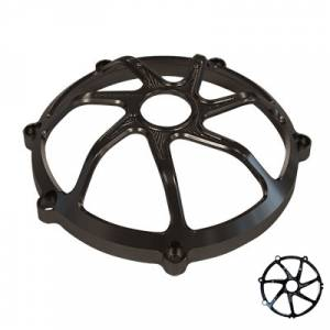 SpeedyMoto - SPEEDYMOTO Ducati Dry Clutch Cover: 7 Spoke