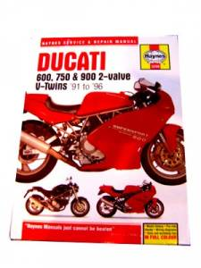Haynes Books - HAYNES Ducati 2V Service & Repair Manual - Image 1