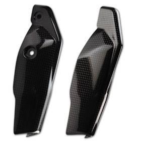 CM Composit - CM Composit CF Fork Leg Guards: HyperMotard