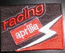 Patches - Aprilia Flag Patch