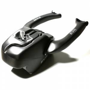 EVR - EVR Carbon Fiber Air Box with Intake Tubes: 1098R/1198R