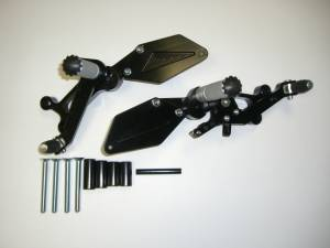 Motowheels - MW Billet Hypermotard Rearsets