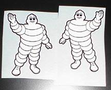 Michelin Man Sticker: Standing