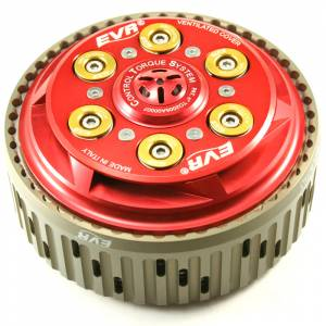 EVR - EVR Ducati CTS Slipper Clutch Complete with 48T Sintered Plates and Basket