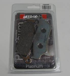 Ferodo - Ferodo Platinum Front Organic Brake Pads [Single Pack]: Ducati Sport Classic, Paul Smart, GT1000, Diavel / BMW GS Series - Image 1