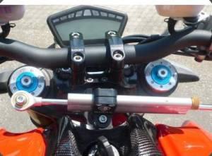 Ducabike - DucabikeÖhlins Steering Damper Bracket: 749/999/SF