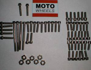 Pro-Bolt - TI Engine Case Kit: 749/999