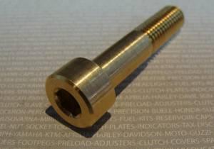 Oberon - OBERON Hollow Brass Bolt for Bar End Turn Signals - Image 1