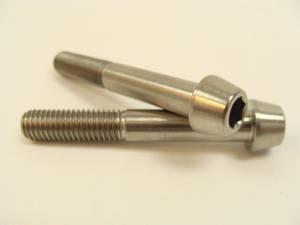 8x55 Titanium Tapered Socket Cap Bolt