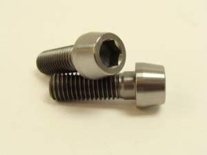 10x30 Titanium Tapered Socket Cap Bolt: 1.50 Pitch - Image 1