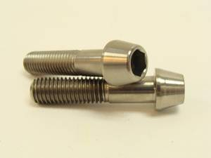 10x45 Titanium Tapered Socket Cap Bolt: 1.50 Pitch