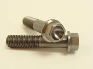10x45 Titanium Hex Flange Bolts - Image 1