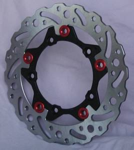 Braketech - BrakeTech AXIS Cobra Stainless Steel Series Rear Rotor: 749 / 999 / D16RR
