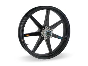 BST Wheels - BST 7 Spoke Front Wheel: 749,999,848,1098,1198, Streetfighter / Monster 796,821,1100,1200, S4R/S4RS / HM 796, 821,1100,HS / MTS1200