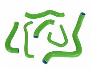 Corse Hoses - CORSE Silicone Coolant Hose Kit: Kawasaki ZX6R '09-'11 - Image 1