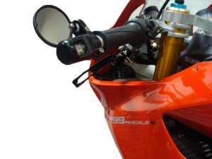 Oberon - OBERON Bar End Turn Signals Kit: Ducati Panigale 899-959-1199-1299, V2 [Mirrors are sold separately] - Image 1