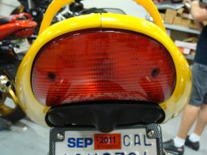 Used Parts - Supersport 1000 Tail Light - Image 1
