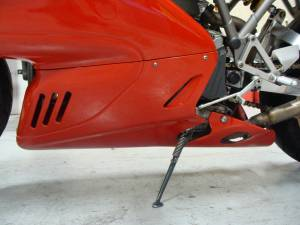 Supersport 900 LH Lower Bellypan - Red