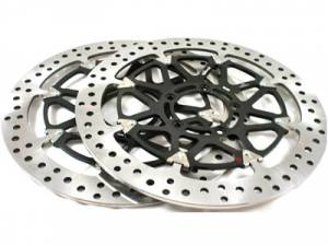 Brembo - BREMBO HP T-Drive Disk Kit [Ducati 6 Bolt 10MM Offset]: MON, ST, SS, Sport Classic, 851/888, 748-998