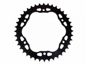 SUPERLITE - SUPERLITE RS7 520 Pitch Black Steel Quick Change Rear Sprocket: 1098, SF1098, 1198, 1199 ,1299, Diavel, M1200, MTS1200