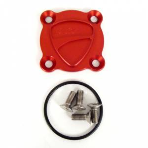 Corse Dynamics - Corse Dynamics Billet Aluminum Oil Drain Plate Cover: S4R/S4RS / 848-1198 / SF / Diavel / M1200