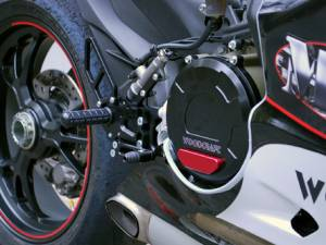 Woodcraft - WOODCRAFT CFM REARSETS DUCATI PANIGALE [All] COMPLETE: STD - Image 1