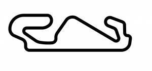 Tracks of the World - Tracks of the World Sticker: Circuit de Catalunya [Black] - Image 1