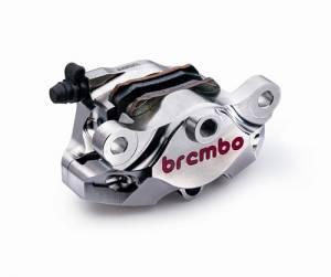 Brembo - BREMBO Nickel 84mm Mount CNC 2 Piece Rear Caliper
