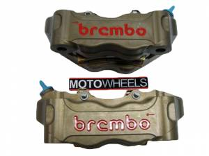 Brembo - BREMBO HPK Hard Anodized Radial CNC 2 Piece Calipers 100mm/108mm - Image 1