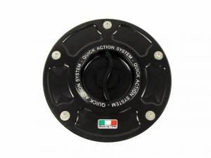 TWM - TWM Quick Action Aluminum Fuel Cap: Ducati Panigale / Streetfighter / Diavel / M696-796-1100 / Scrambler
