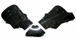 CM Composit - CM Composit Carbon Fiber Cam-Belt Cover Set: Vented 2005 999R - Image 1