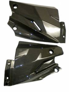 CM Composit - CM Composit CF Lower Radiator Side Panels: Streetfighter - Image 1
