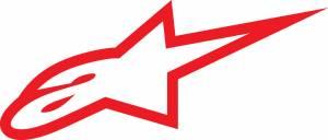 Stickers - Alpinestars Reflective Sticker {Red] - Image 1
