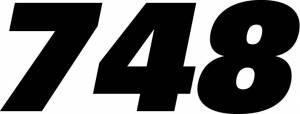 Stickers - Ducati 748 Sticker