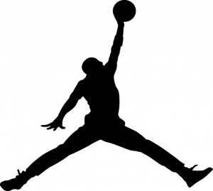 Stickers - Jordan Jump Man Reflective Sticker - Image 1