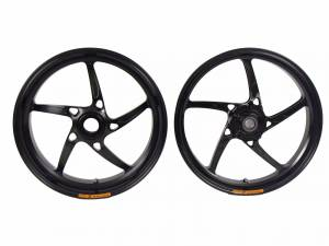 OZ Motorbike - OZ Motorbike Piega Forged Aluminum Wheel Set: Triumph Speed Triple '08-'10