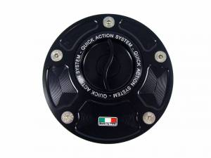 TWM - TWM Quick Action Aluminum Fuel Cap: 848 / 1098 / 1198 / 748 / 916 / 996 / 998 / Monster / ST / MV Agusta