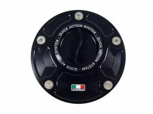 TWM - TWM Quick Action Aluminum Fuel Cap: Ducati 848-1098-1198, 748-916-996-998, Monster 1200-821-797, ST, MV Agusta - Image 1