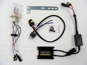 Motowheels - HID Headlight kit : H4 6000K [Low only] - Image 1
