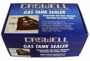 Caswell - Caswell Epoxy Gas Tank Sealer [Motorcycle Tanks - Up To 10 Gal] 1 Pint