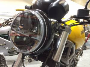 Corse Dynamics - CORSE DYNAMICS 7 inch LED Spada Headlight Kit: Monsters & Sport Classics - Image 1