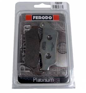 Ferodo - FERODO Platinum Organic Front Brake Pads: Ducati Elefant, Monster 620-695-S2R800, MTS 620, Yamaha Tenere 700 - Image 1