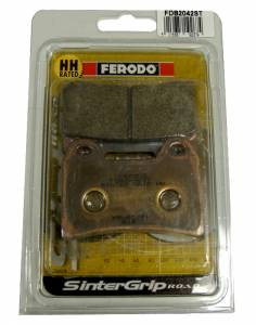Ferodo - FERODO ST Front Sintered Brake Pads: Brembo Dual Pin [Single Pack] - Image 1
