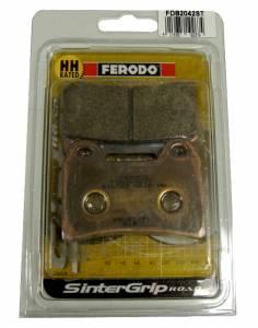 Ferodo - FERODO ST Front Sintered Brake Pads: Brembo Dual Pin